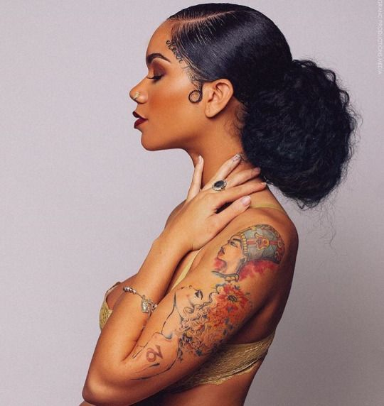 1000 ideas about purple natural hair on pinterest for Black girl tattoos