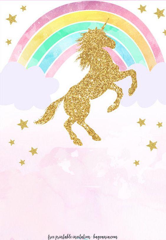 Free Unicorn Invitation Templates New Edition Drevio Unicorn Invitations Unicorn Birthday Invitations Printable Unicorn Birthday Invitations