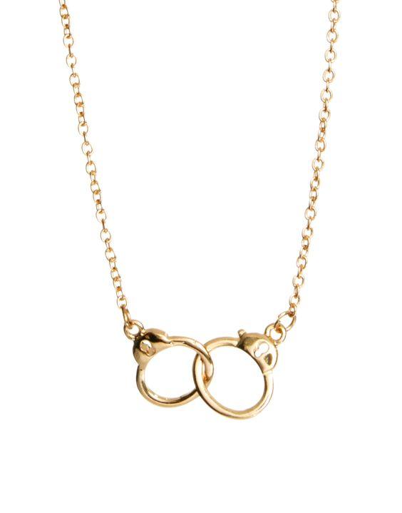 ASOS Handcuff Ditsy Necklace