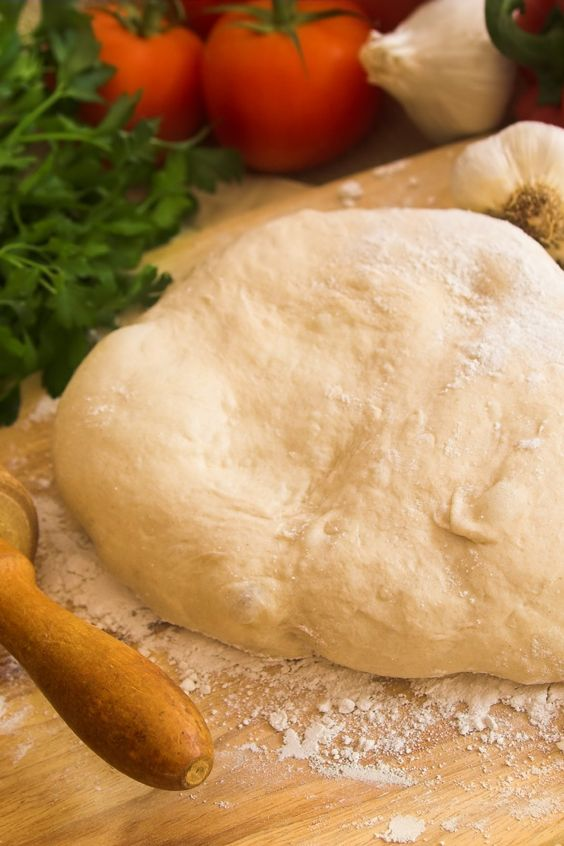 Easy Homemade Pizza Dough Recipe And Pizza On Pinterest