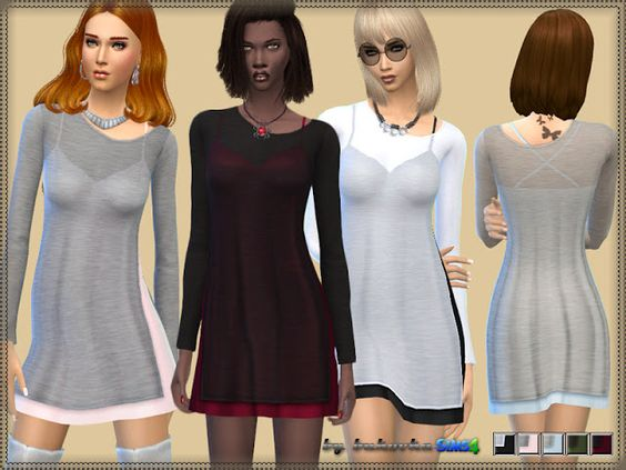 Sims 4 CC's - The Best: Dress by Bukovka