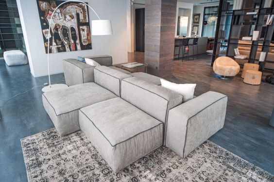FLEXTEAM Sofas design Pinterest Interiors, Living rooms and - designer moebel weiss baxter