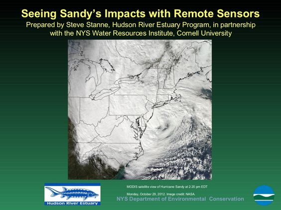 sandy-impacts by Teaching the Hudson Valley via Slideshare