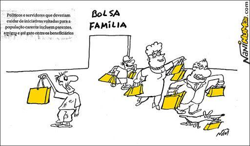 Bolsa família é fraudado.    por Nani