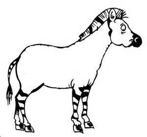 Coloriage z bre sans rayures a imprimer r sultats yahoo - Coloriage zebre ...