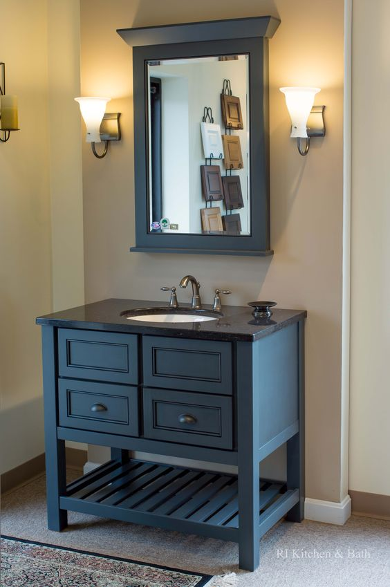 Beautiful Table Vanity On Display At The Rikb Showroom Located At 139 Jefferson Boulevard In