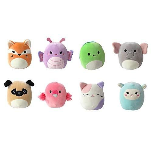 Buy Squishmallows Minis 8 Pack Plush Set Multi Colored Online At Low Prices In Usa Ergode Com Animal Pillows Cute Stuffed Animals Plush