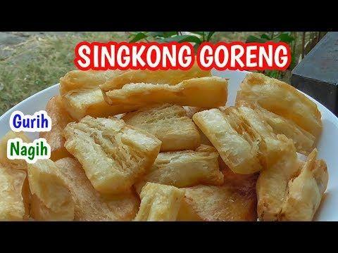 Resep Singkong Goreng Bawang Putih Camilan Sederhana Youtube Makanan Resep Camilan
