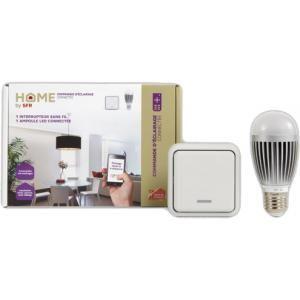 Transformez votre lampe en éclairage connecté, et pilotez la depuis un interrupteur sans fil ou à distance ! #SFR #NoelSFR #HomeBySFR #Domotique