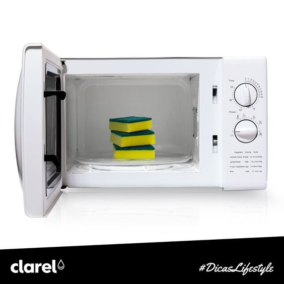 Não sabe como eliminar as bactérias dos seus panos e esfregões de cozinha? Nós temos a solução: basta colocá-los húmidos no micro-ondas, na potência máxima, durante cerca de 2 minutos e dizer adeus a todas as bactérias.