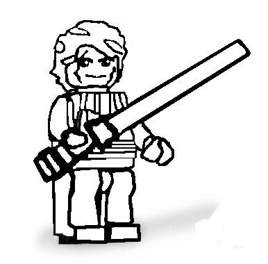 Best Friends Forever Coloring Pages as well LEGO Star Wars Luke ...