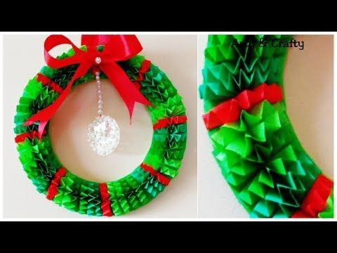 Diy Christmas Wreath How To Make Paper