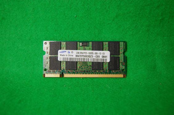 2GB Notebook RAM Samsung M470T5663QZ3-CE6 DDR2 667MHz 200p PC2-5300 CL5 SODIMM