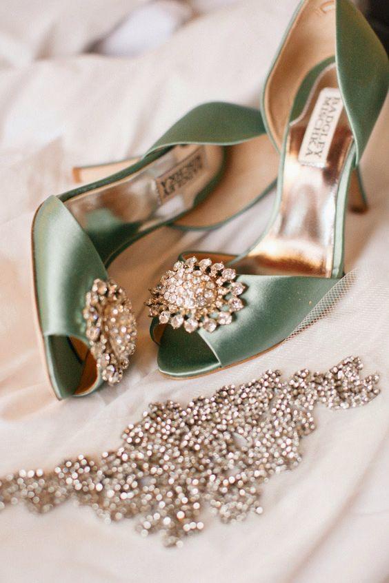 Bonitos zapatos de novia exclusivos | Zapatos de boda para novias