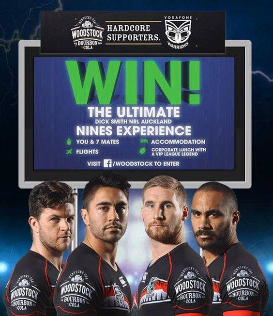 Auckland Nines fan comp 2015