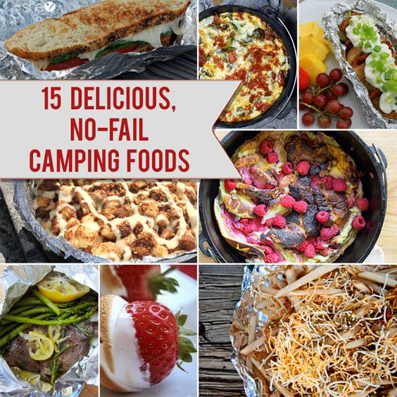 Camp Food Ideas: Camping Foods, Camping And Food On Pinterest