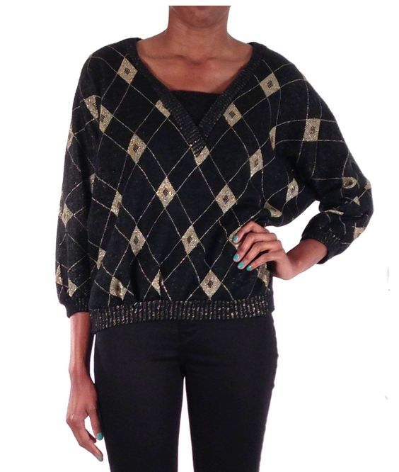 Harlequin Dolma Knit Top - ONW9