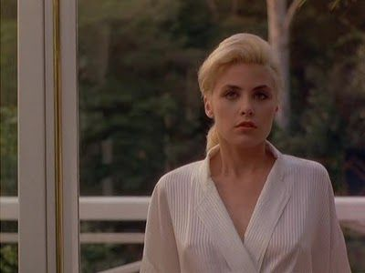 Sherilyn Fenn portrays the character of April Delongpre in ...