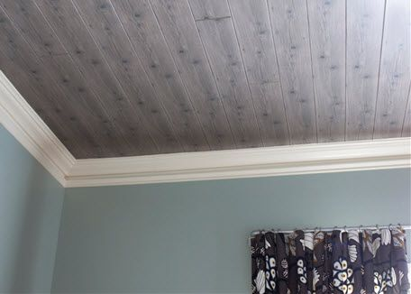 Wood Ceilings Plank Ceiling And Painted Ceilings On Pinterest