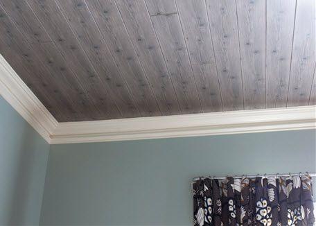 Wood Ceilings Plank Ceiling And Painted Ceilings On Pinterest