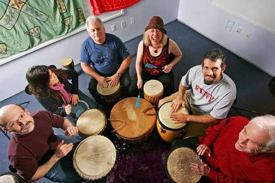 Intentional and Eclectic Drumming  No experience necessary, we have drums to share  contact Sharee for more details_937.477.8187: Drumming Circles, Drum Therapy, Art Music Therapy, Gift Ideas, Music Art, Addiction Recovery, Music Therapy Articles, Therapy Ideas