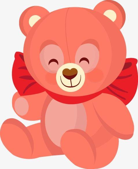 Cartoon Oso De Peluche Lovely Cartoon Oso Png Y Vector Teddy Bear Animal Clipart Teddy