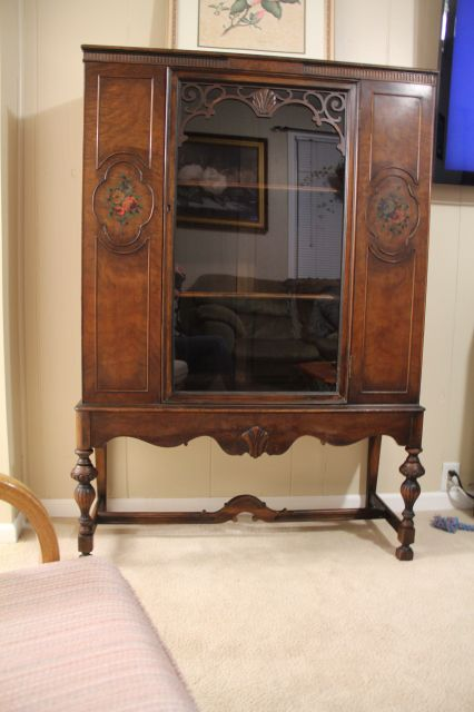 antique furniture | Antique Furniture / Berkey & Gay Hutch