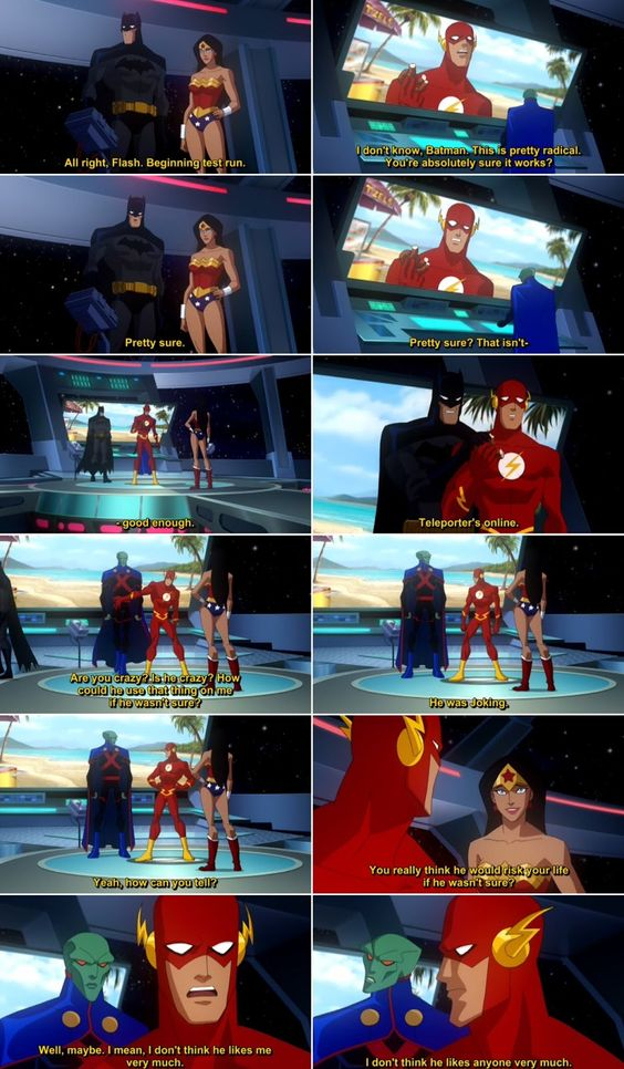 Quotes from Justice League Crisis on Two Earths (2010) Movie
