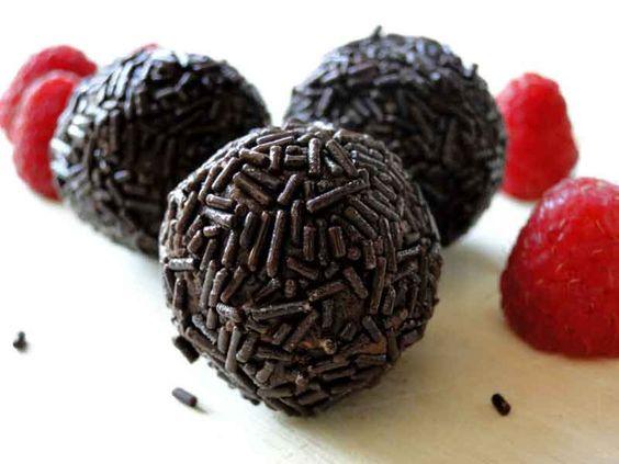trufas de chocolate sin azucar