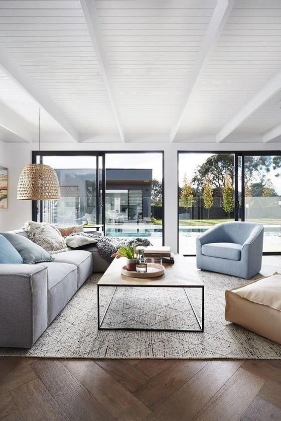 Simple And Clean Living Room Design Modern Apartment Living Room Beautiful Living Rooms Living Room Design Modern