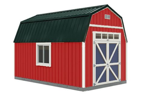 Sundance Series Tb 600 With Optional Windows Metal Roof And Double Barn Doors Comparing Tuff Shed Barns Project Small House Tuff Shed Shed Shed Homes