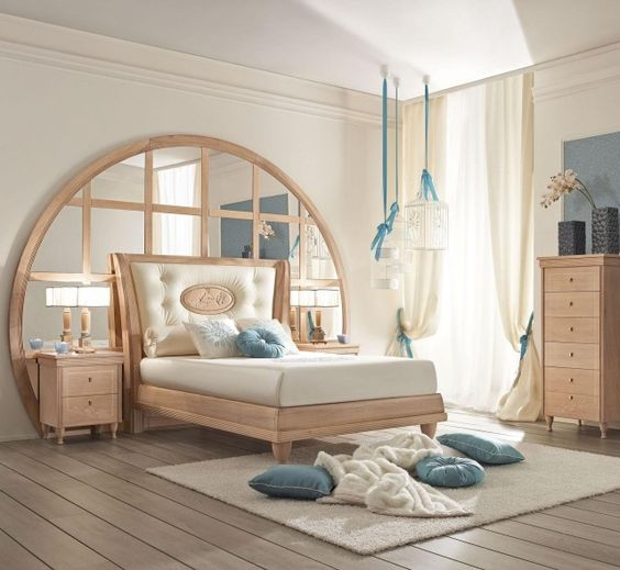d co chambre fille en bois clair bleu pastel et blanc d co pinterest pastel chic et d co. Black Bedroom Furniture Sets. Home Design Ideas