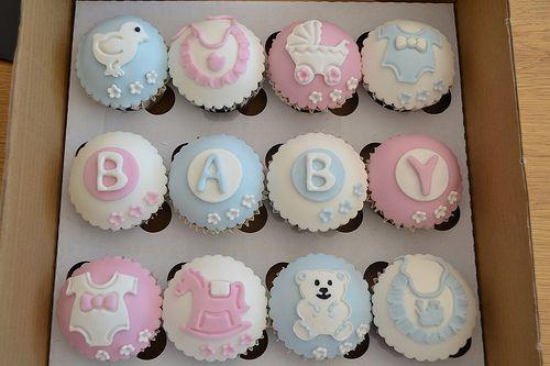 baby shower cupcakes baby shower cupcakes babies and cake - Decorating Baby Shower Cupcakes