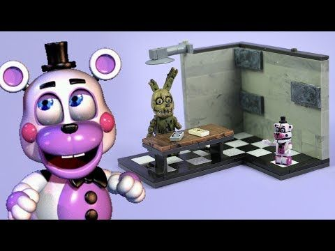 McFarlane Toys Five Nights at Freddy/'s Backstage /'Classic Series/' Medium Cons...