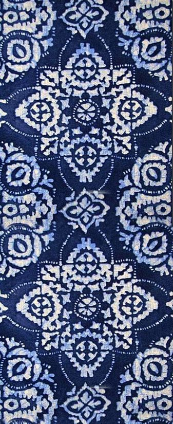 Table runner, pillow fabric, hallway rug,.... so many possibilities with this pattern. housefabric.com