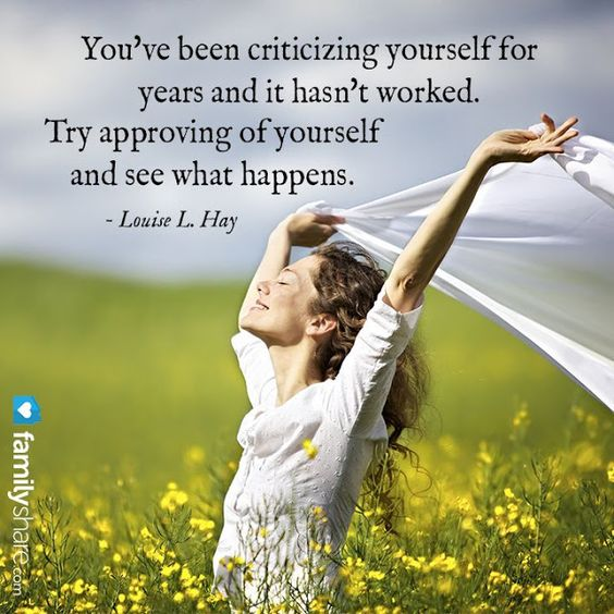 swapping the inner critic for the inner cheerleader - time to stop criticizing yourself and start appreciating what you have to offer