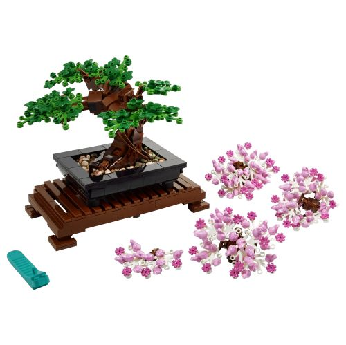 Lego Botanical Collection Unveiled With Captivating Bonsai Tree And Magnificent Flower Bouquet News The Brothers Brick The Bonsai Tree Bonsai Lego Flower