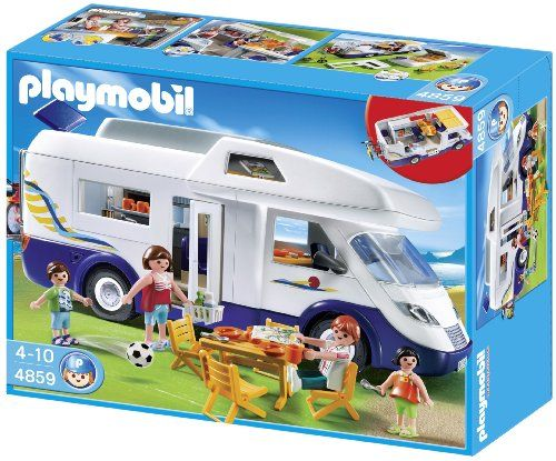 Playmobil – 4859 – Jeu de construction – Grand camping-car familial | Your #1 Source for Toys and Games
