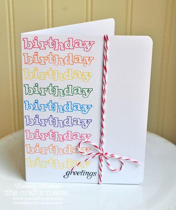 birthday card: