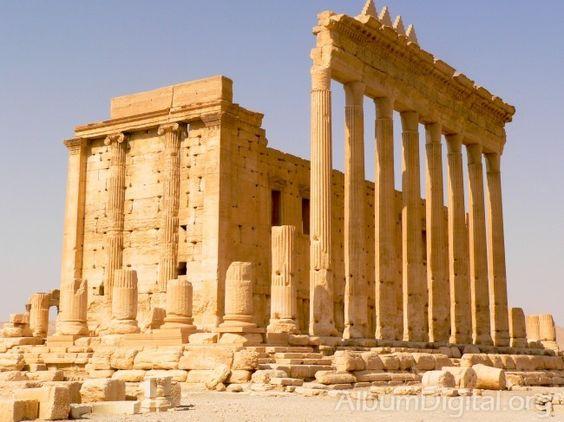 Columnas Templo de Baal en Palmira