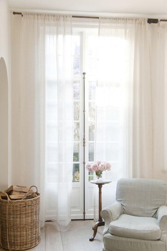 Sheer Casper Curtains By Libeco Linen Libeco Home