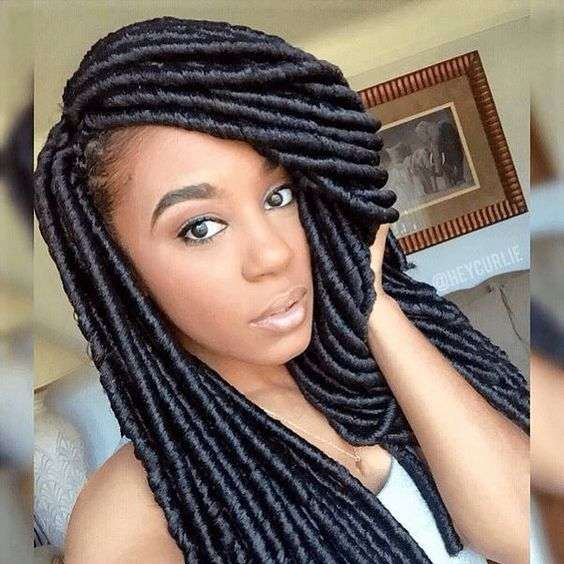 Crochet Loose Hair Dreadlocks : ... naturalhairmag Hairology... Pinterest Instagram, Locks et Locks