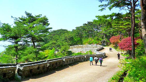 Pháo đài Namhansanseong địa điểm lý tưởng để ngắm cảnh