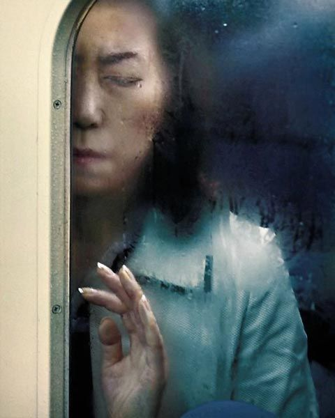 One of the most evocative contemporary photography series I have seen in a while is Michael Wolf's Tokyo Compression. The German shoots people in the subway trains of the Japanese capital. The result is breathtaking: an emotional collection of commuting individuals, with each portrait telling a unique story.