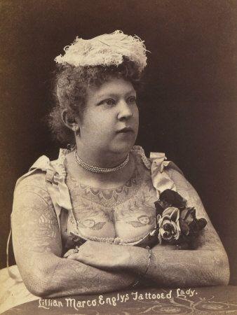 Tattooed Circus Lady