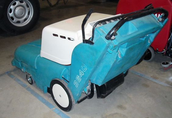 This is a great used sweeper that we have available now.  The 3640 can sweep the same area in ten minutes that it would take one hour by hand.  Take charge of your environment with the panel filter system that controls dust.  A hopper dump assist handle tilts the hopper out of the cradle and rolls away for easy dumping.  Throw away that broom and start being productive with the 3640!  Call 800-793-3790 for a demo!