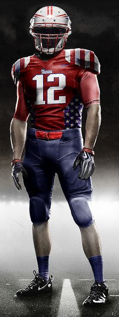 NFL Jerseys - I'd be cool if New England had a uniform that they wore like this ...