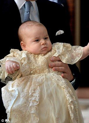 Look closely and you will see more strands of the British Royal Family in his chubby face than in any GCSE history course book
