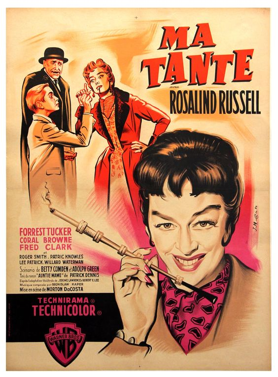 MA TANTE [AUNTIE MAME] (1958) - Click Image to Close