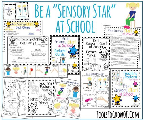 Sensory Processing & Self-Regulation Strategies for the classroom and home! Occupational therapy: